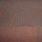 Aircraft Seat and Panel Upholstery Fabric, Brick Red color