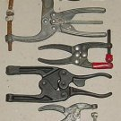 Lot of Aircraft Toggle Clamps