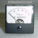 Simpson Aircraft DC Amps Indicator / Ammeter