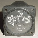 C668520-0104, Cessna 421 Outside Air Temperature Indicator