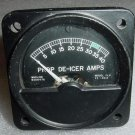 B20847A, FLD FS-40A, Beechcraft Prop De-Icer Amps Indicator