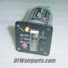 MS28009-1, A401A, Aircraft Battery Temperature Monitor Indicator