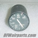 18-1672-2, 6620-179-1886, Aircraft Oil Pressure Indicator