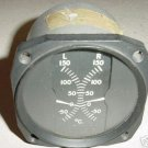 Twin Cessna Aircraft Temperature Indicator, AN5795-6, 60015