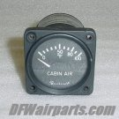 556-10-1, 50-380025-1, Beechcraft Cabin Air Temp Indicator
