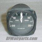 Aircraft 2 in 1 Vaccum / Pressure Indicator