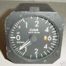Aircraft Vertical Speed Indicator, 550-18013B-012