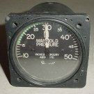 Beech King Air Manifold Pressure Indicator, 96-384056-1