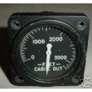 "Vintage Warbird """"Cable out"""" Position Indicator, 8DJ48GBY"