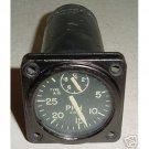 Vintage Warbird Jet Fuel Flow Indicator, 25001-B14A-1-2A1