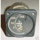 Vintage Warbird Free Air Temperature Indicator, 47B62
