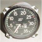 Vintage Aircraft Cessna 170 Recording Mechanical Tachometer