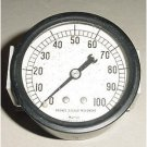 329-3210, Vintage Warbird Aircraft Oil Pressure Indicator