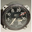 Vintage Cessna Aircraft Recording Mechanical Tachometer