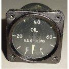 8DJ21ACZ, Vintage Warbird Bomber Oil Quantity Indicator