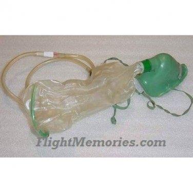 Vintage Business Aircraft Pilot / Copilot Emergency Oxygen Mask