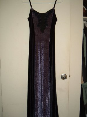 CYKXTEES Purple Gown Medium