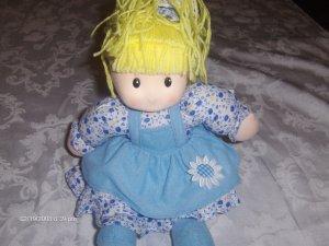My Baby Princess Sitting Blue