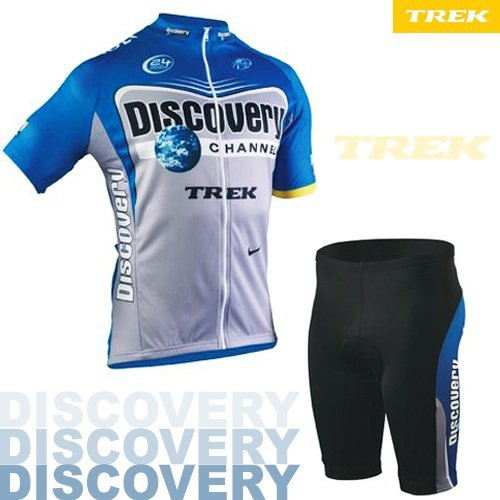 DISCOVERY CHANNEL CYCLING JERSEY AND SHORTS KIT SZ XL