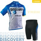 DISCOVERY CHANNEL CYCLING JERSEY AND SHORTS KIT SZ L