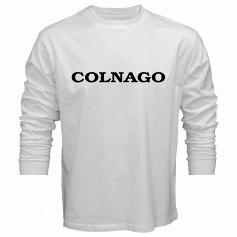 COLNAGO CYCLING CYCLE BIKE FRAME LONG SLEEVE TSHIRT SIZE XL (FREE SHIPPING WORLDWIDE!!)