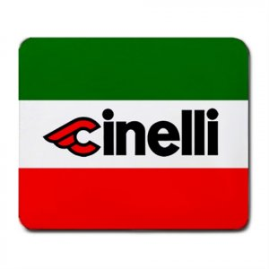 CINELLI ITALIAN FLAG MOUSE PAD (FREE SHIPPING WORLDWIDE!!)