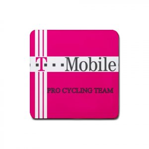 T-MOBILE TEAM CYCLING DRINK COASTERS (SET OF 4!) NEW (FREE SHIPPING WORLDWIDE!!)