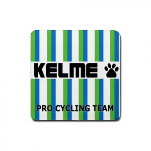KELME TEAM CYCLING DRINK COASTERS (SET OF 4!) NEW (FREE SHIPPING WORLDWIDE!!)