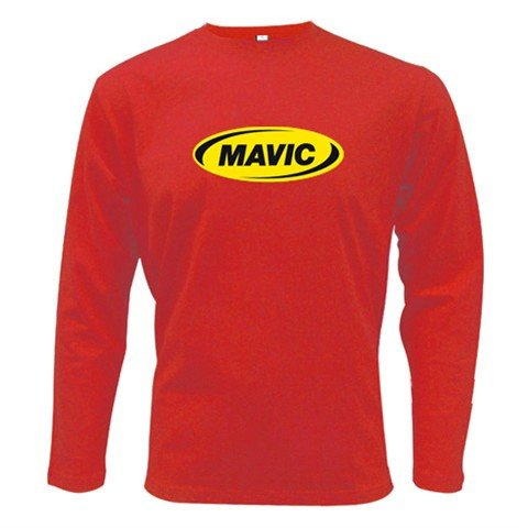 MAVIC WHEELS LONG SLEEVE T-SHIRT SZ M (FREE SHIPPING WORLDWIDE!!)