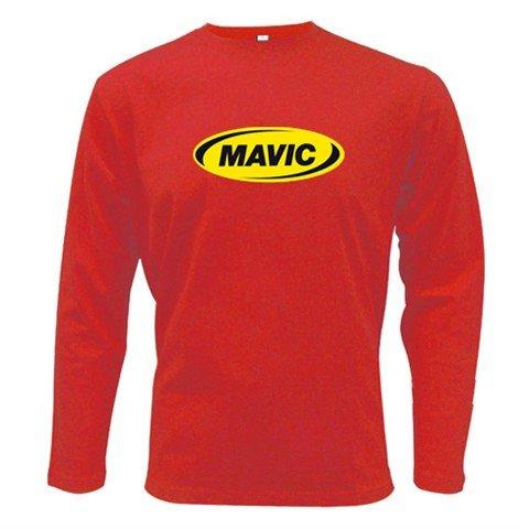 MAVIC WHEELS LONG SLEEVE T-SHIRT SZ L (FREE SHIPPING WORLDWIDE!!)
