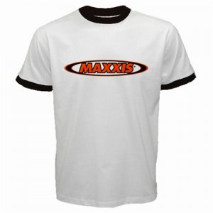 MAXXIS CYCLING CYCLE BIKE TIRES RINGER T-SHIRT SZ S (FREE SHIPPING WORLDWIDE!!)