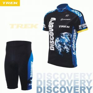 DISCOVERY CHANNEL 2007 CYCLING JERSEY AND SHORTS KIT SZ L