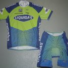 LIQUIGAS TEAM CYCLING CYCLE JERSEY AND SHORTS KIT SZ XL