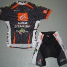 CAISSE D`EPARGNE ILLES BALEARS CYCLING JERSEY AND SHORTS KIT SZ XL
