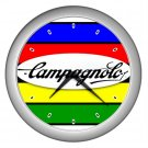 CAMPAGNOLO CAMPY CYCLING  SILVER WALL CLOCK NEW (FREE SHIPPING!!)