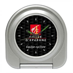 CAISSE D`EPARGNE TEAM CYCLING CYCLE ALARM CLOCK NEW (FREE SHIPPING!!)