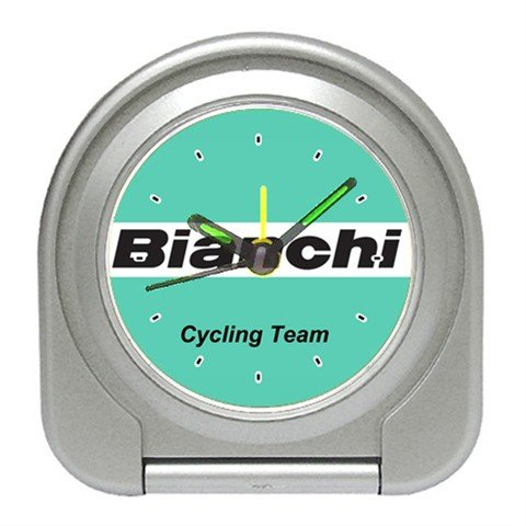 BIANCHI TEAM CYCLING CYCLE BIKE ALARM CLOCK NEW (FREE SHIPPING!!)