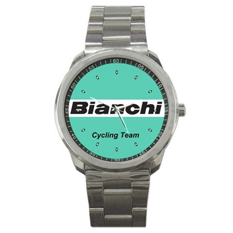 BIANCHI BIKE CYCLE CYCLING  WRIST WATCH NEW (FREE SHIPPING WORLDWIDE!!)