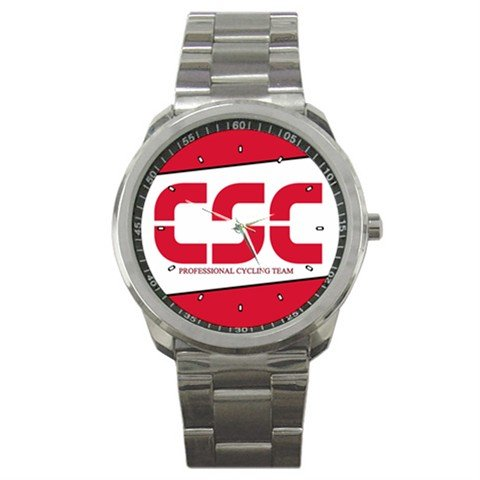 TEAM CSC BIKE CYCLE CYCLING  WRIST WATCH NEW (FREE SHIPPING WORLDWIDE!!)