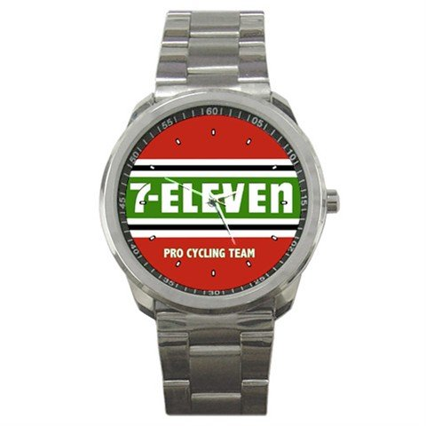 TEAM 7-ELEVEN BIKE CYCLE CYCLING  WRIST WATCH NEW (FREE SHIPPING WORLDWIDE!!)