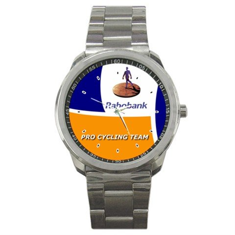 RABOBANK TEAM BIKE CYCLE CYCLING  WRIST WATCH NEW (FREE SHIPPING WORLDWIDE!!)