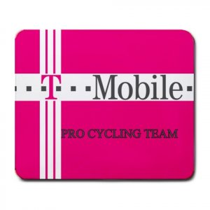 T-MOBILE TEAM CYCLING MOUSE PAD NEW (FREE SHIPPING WORLDWIDE!!)