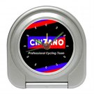 TEAM CINZANO CYCLING CYCLE BIKE ALARM CLOCK NEW (FREE SHIPPING WORLDWIDE!!)