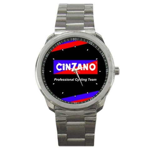 TEAM CINZANO BIKE CYCLE CYCLING  WRIST WATCH NEW (FREE SHIPPING WORLDWIDE!!)