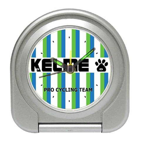 TEAM KELME CYCLING CYCLE BIKE ALARM CLOCK NEW (FREE SHIPPING WORLDWIDE!!)