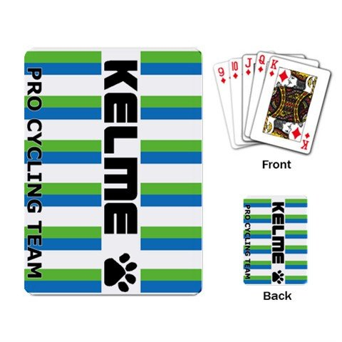 TEAM KELME CYCLING CYCLE BIKE DECK PLAYING CARDS NEW (FREE SHIPPING WORLDWIDE!!)