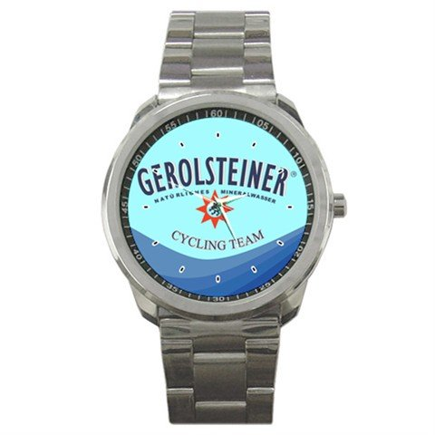 GEROLSTEINER TEAM BIKE CYCLE CYCLING  WRIST WATCH NEW (FREE SHIPPING WORLDWIDE!!)