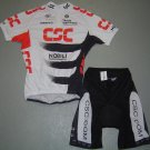 CSC TEAM CYCLING BIKE JERSEY AND SHORTS KIT SZ M