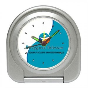 BOUYGUES TELECOM TEAM CYCLING CYCLE ALARM CLOCK NEW (FREE SHIPPING!!)
