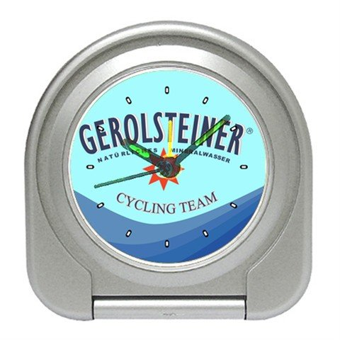 GEROLSTEINER CYCLING TEAM CYCLE ALARM CLOCK NEW (FREE SHIPPING!!)
